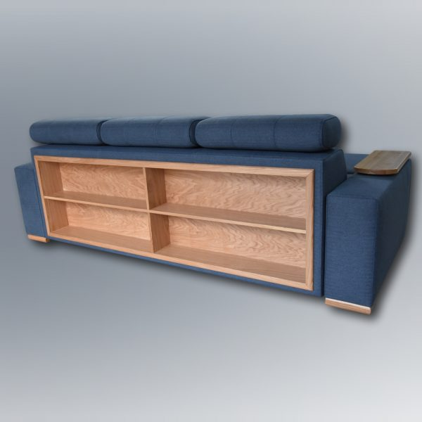 sofa na wymiar - półki