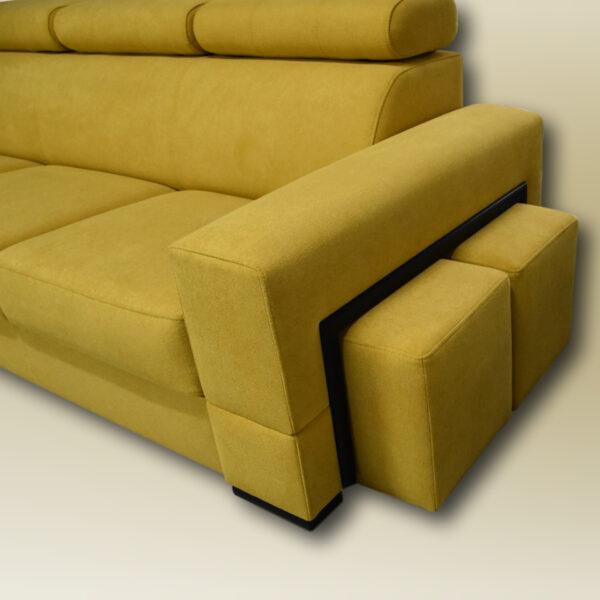 żółta sofa na wymiar